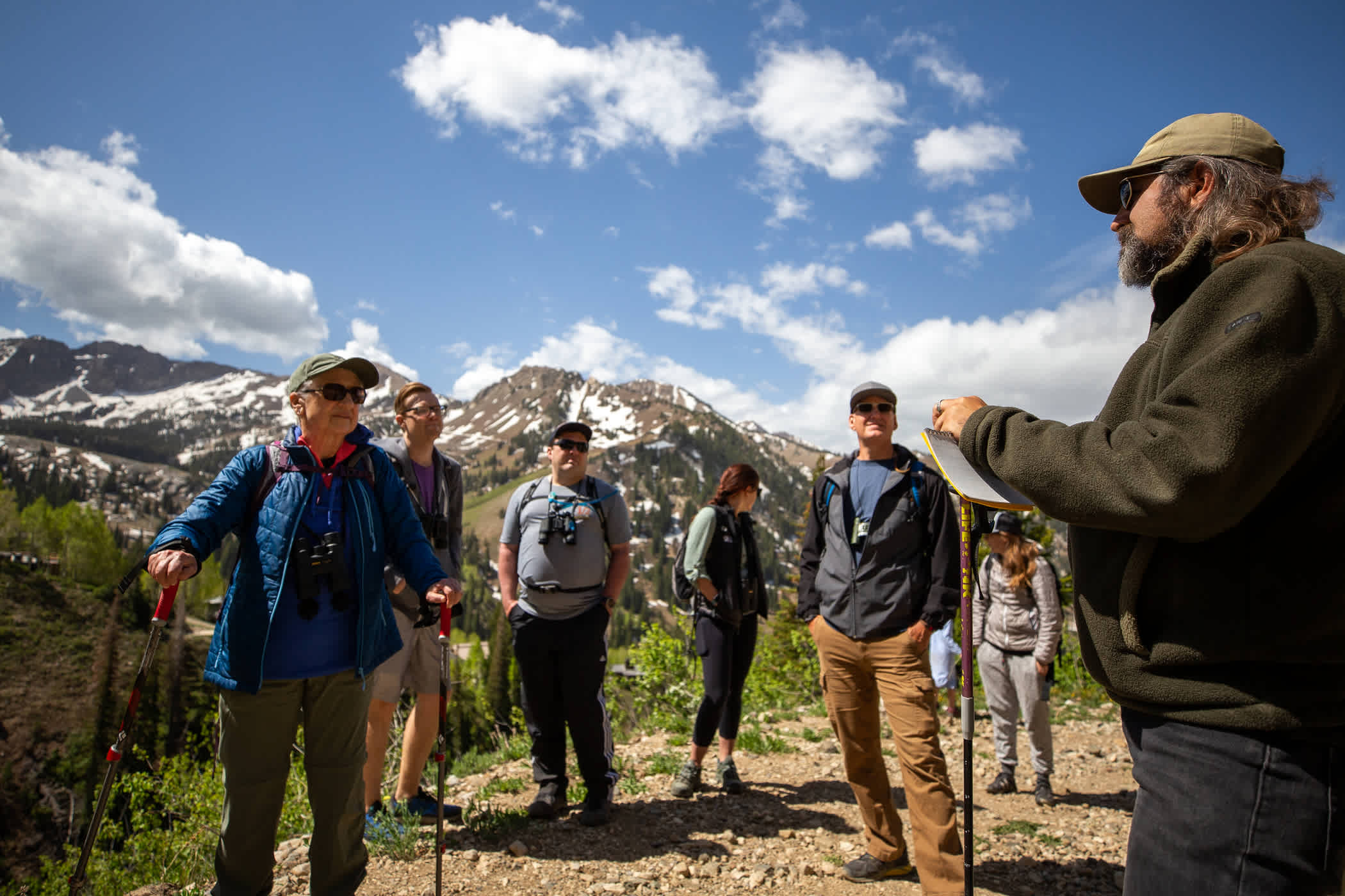 Alta Birding Hikes with Tracy Aviary