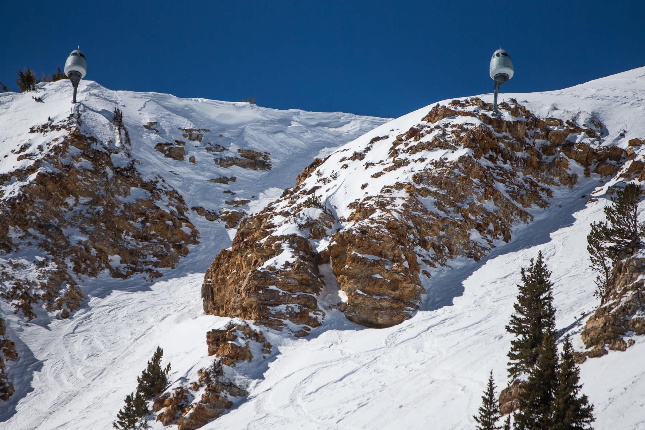 O'Bellx modules on East Baldy at Alta Ski Area