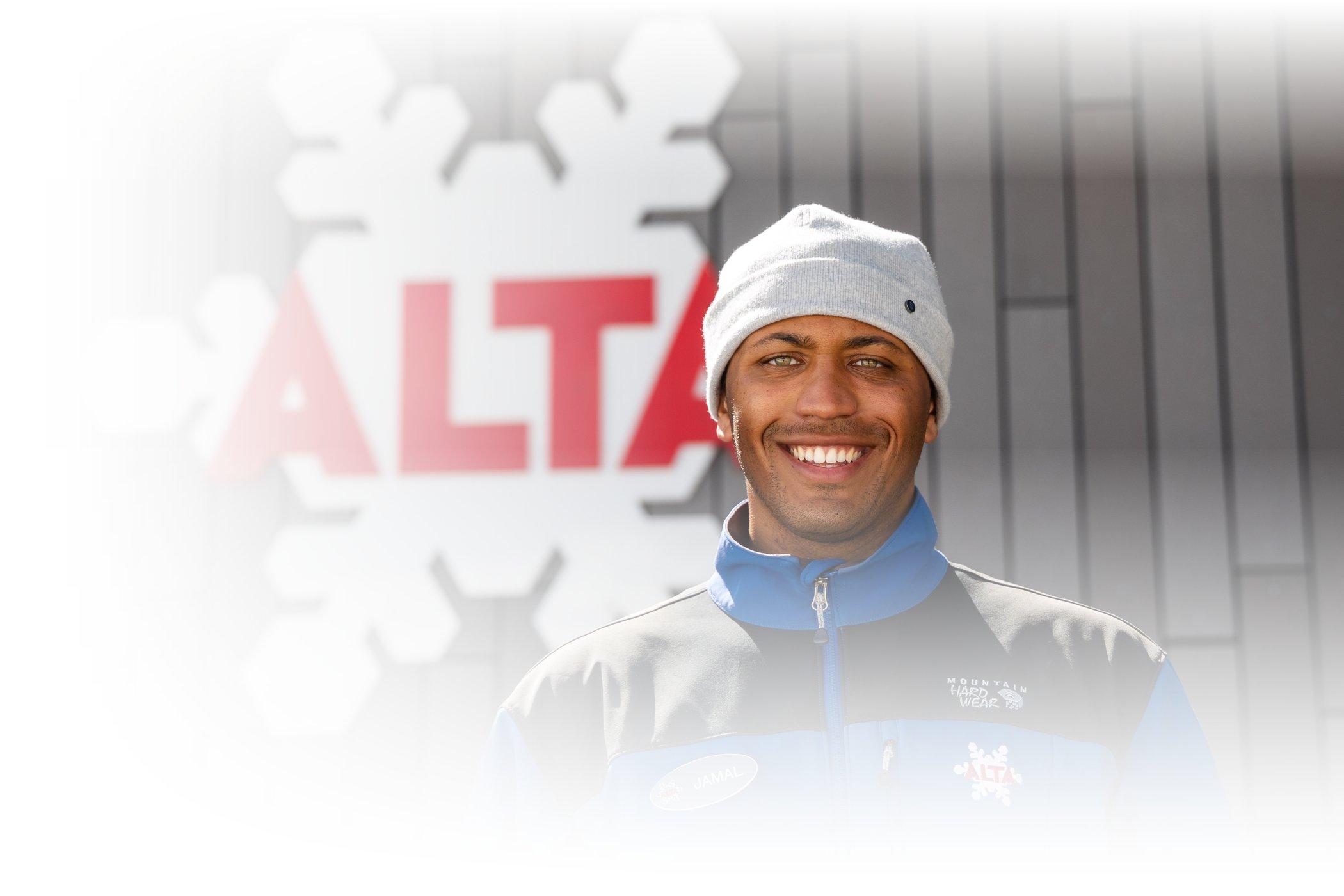 An Alta employee