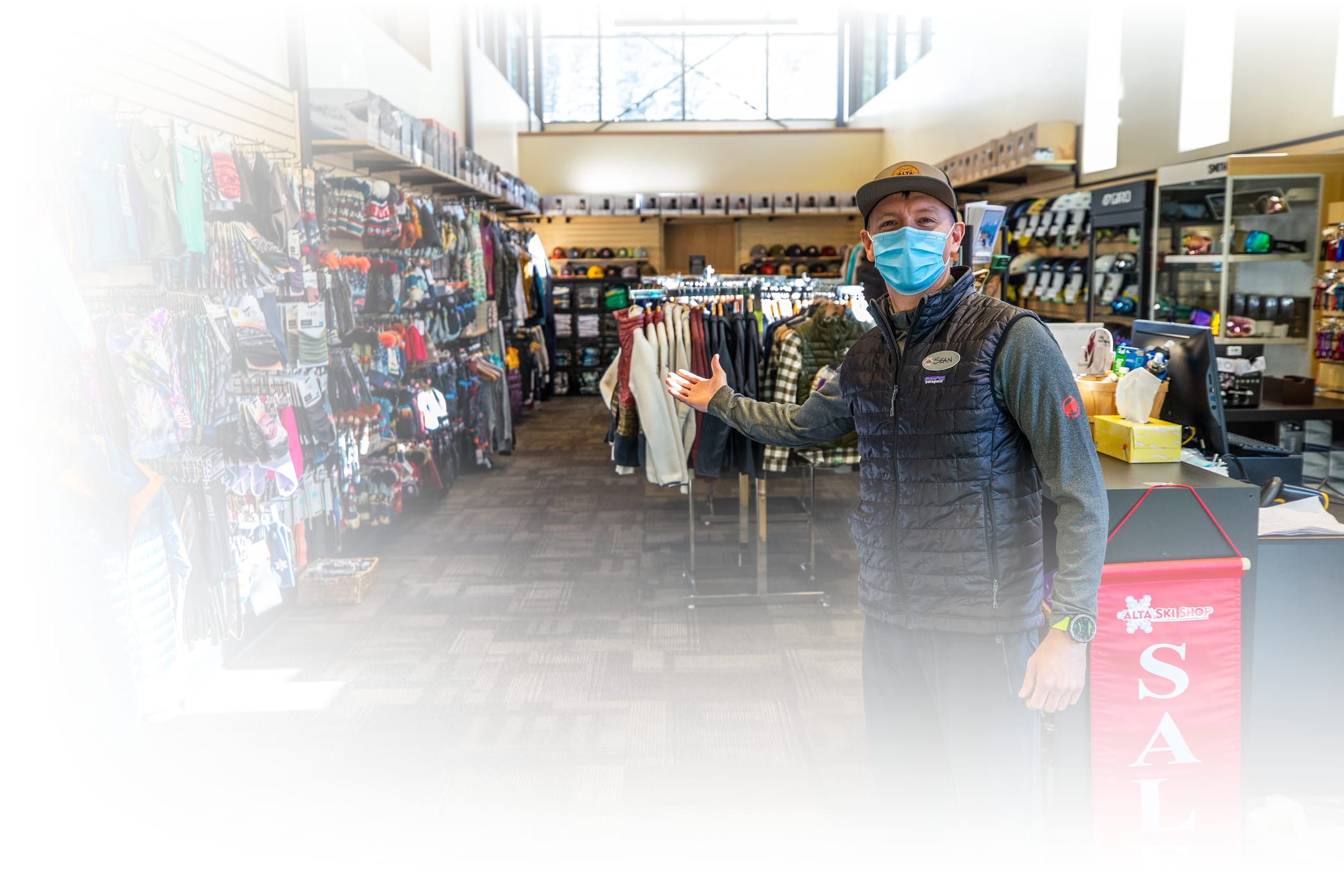 The new Alta Ski Shop at the renovated Alf's Restaurant is now open