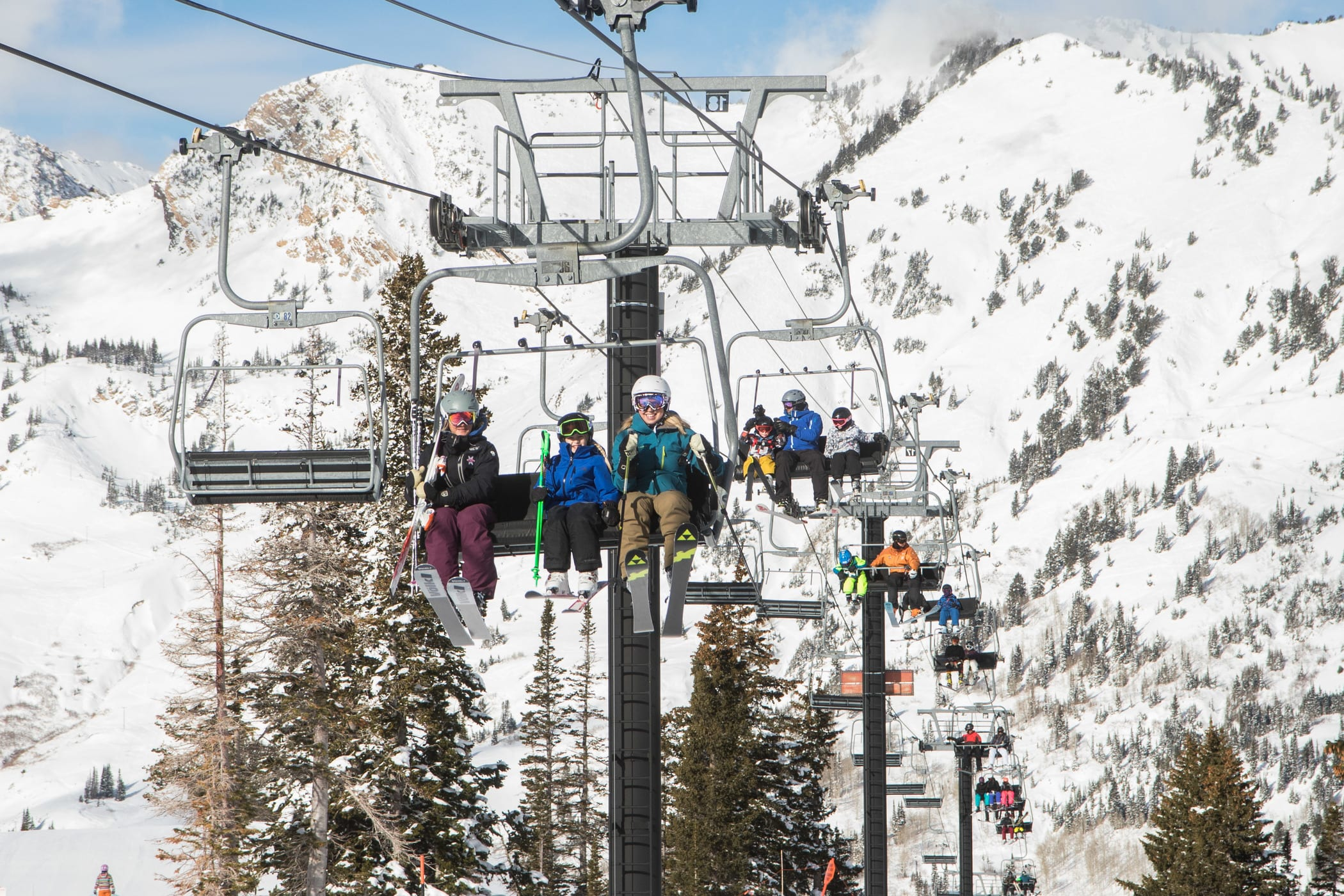 At just $39 for an entire season, adults and children can ski the Sunnyside lift after 3pm every day.