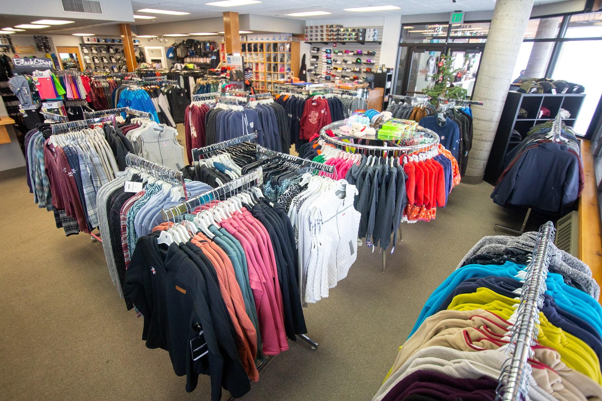 Alta Ski Shop apparel