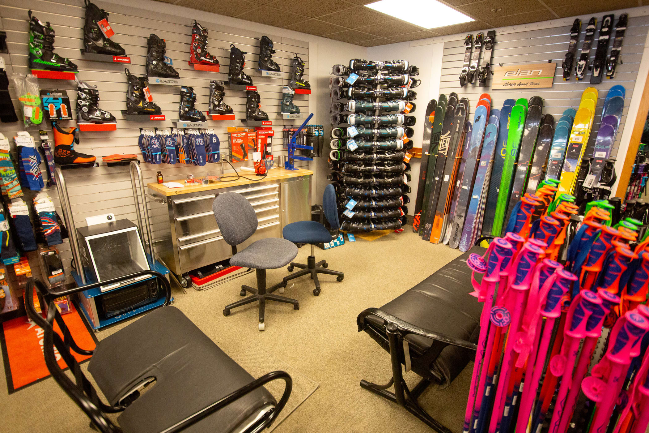 Alta Ski Shop and bootfitting