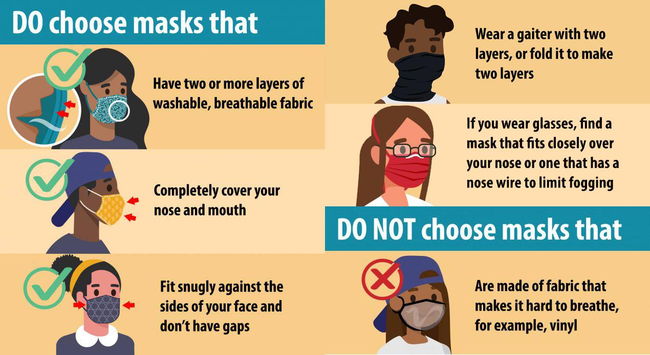 Masks and Buffs at Alta Ski Area
