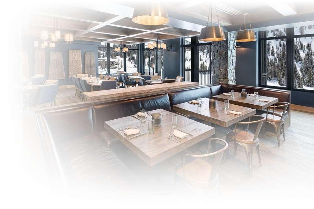 A look at Swen's Restaurant at the Snowpine Lodge at Alta Utah