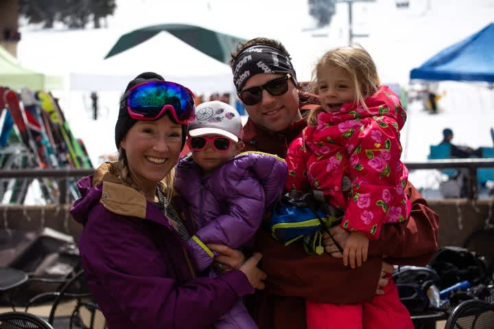 4. SPRING SKIING IS FOR THE KIDS