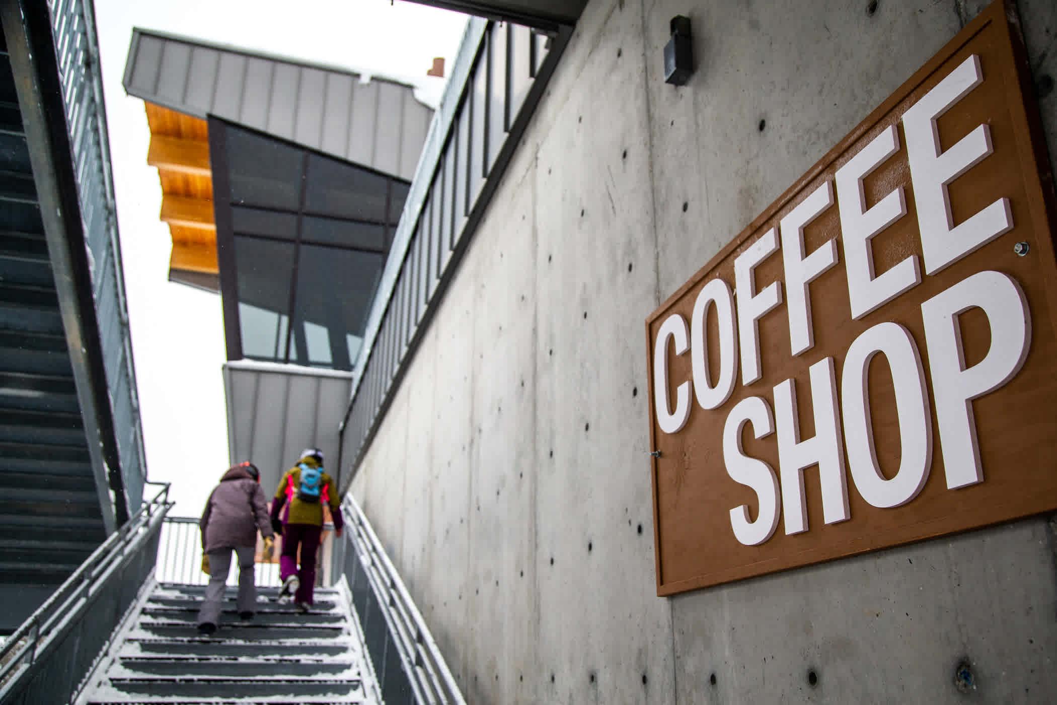 Cecret Coffee near Sugarloaf lift