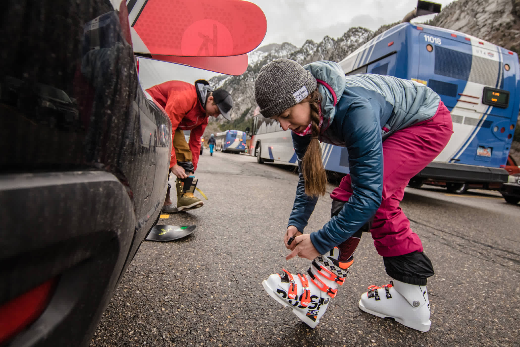 Rite the UTA Ski Bus to Alta Ski Area