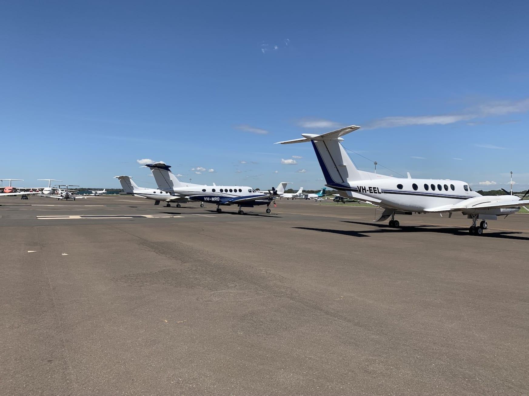 King Air freight