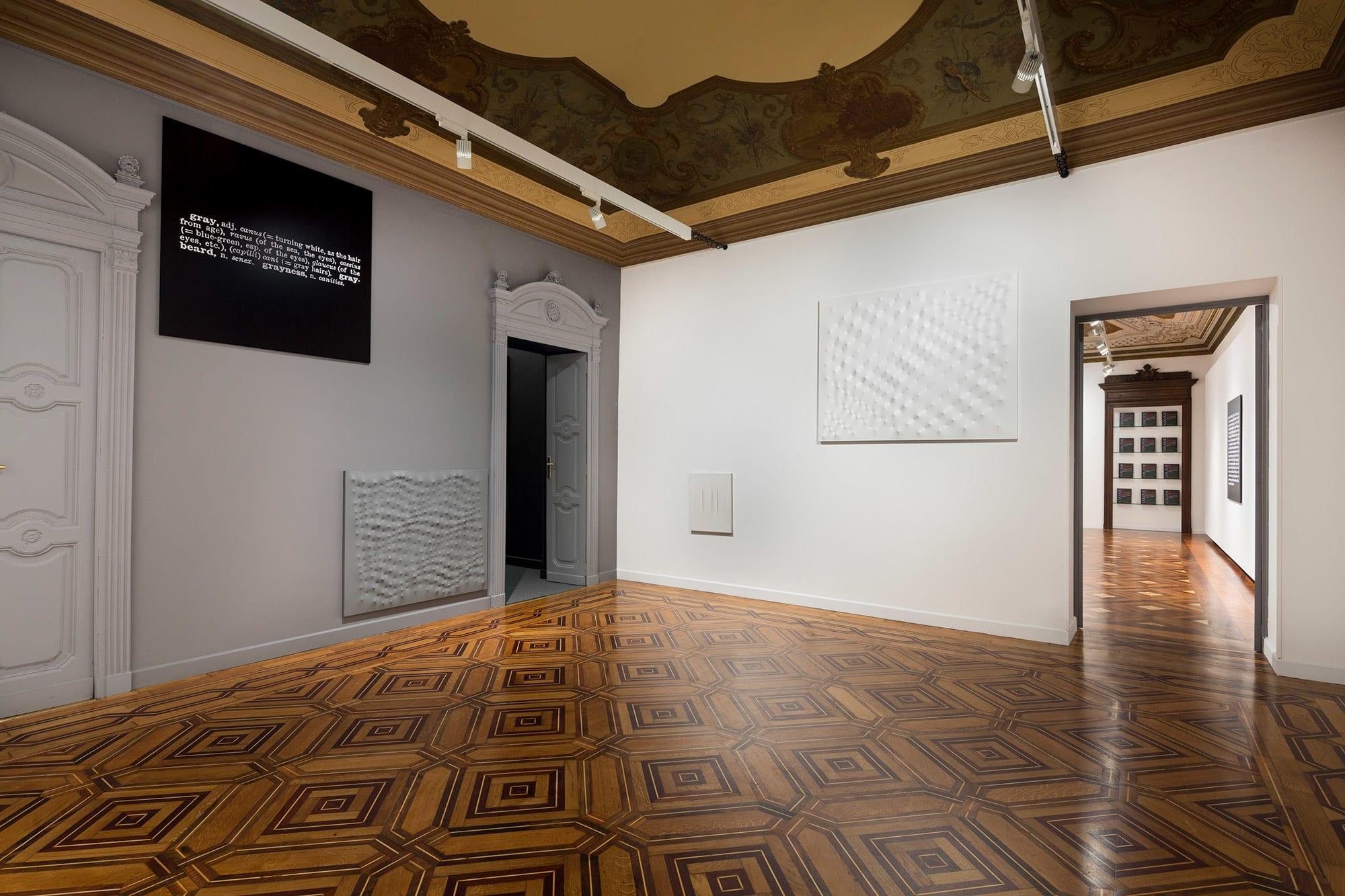 Joseph Kosuth | Colour in Contextual Play | Galleria Mazzoleni