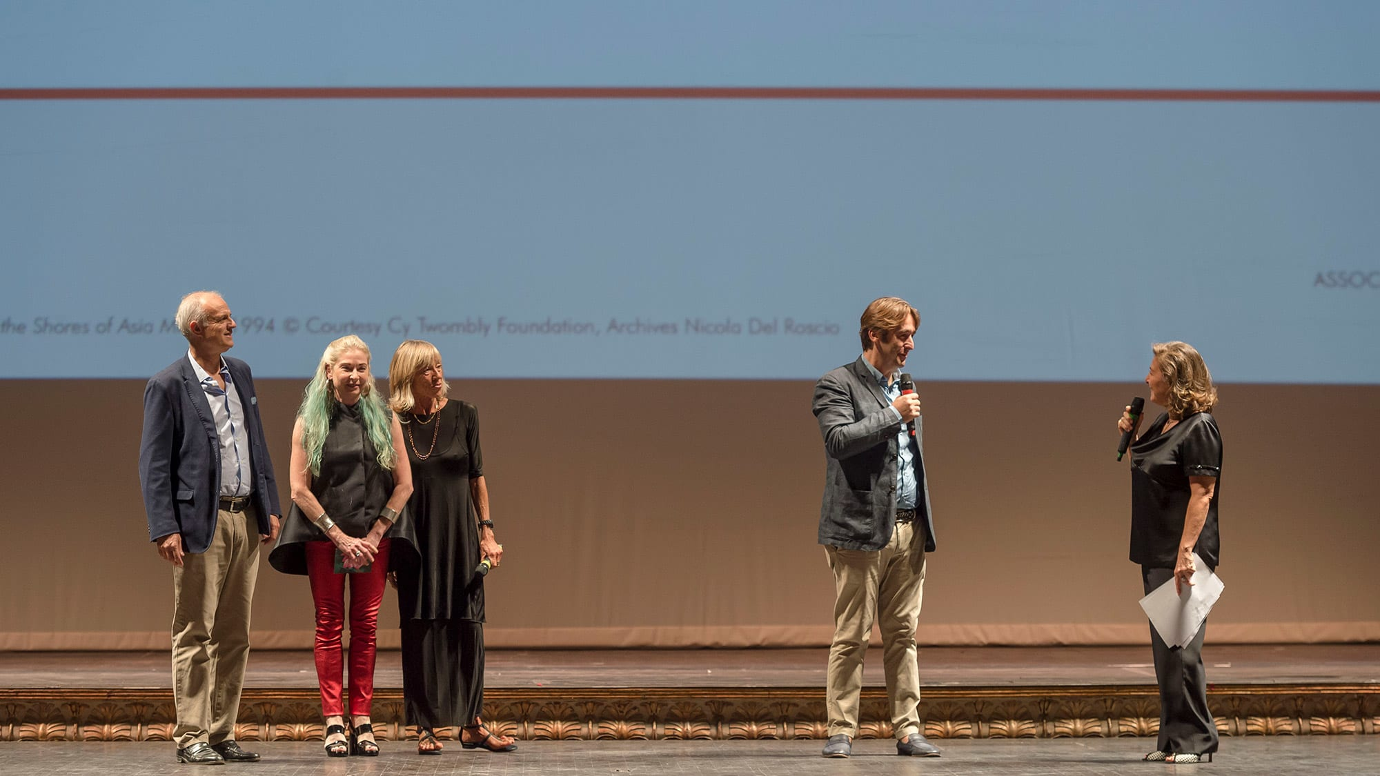 Proiezione del film al Teatro San Carlo di Napoli