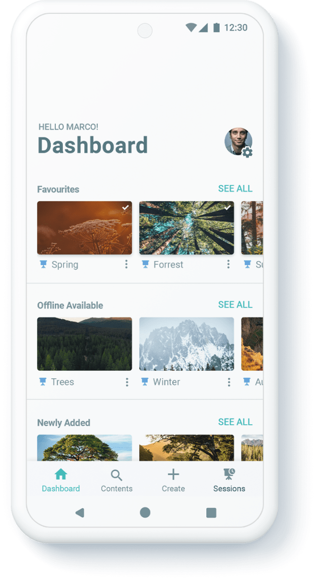 Dashboard Android