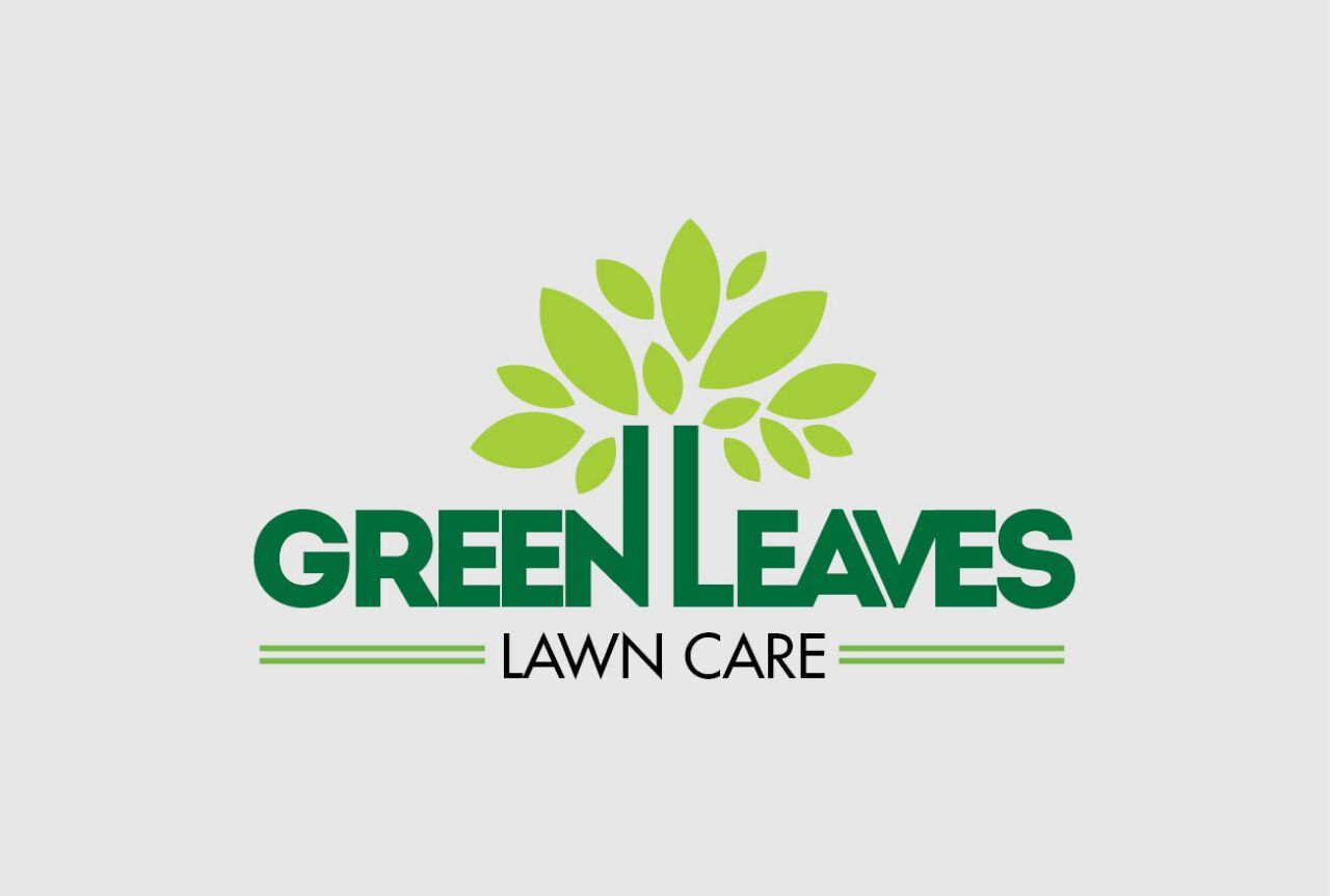 1 ATS Green Leaves Lawn Care Logo 1
