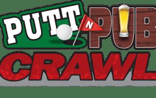 Putt & Pub Crawl Logo