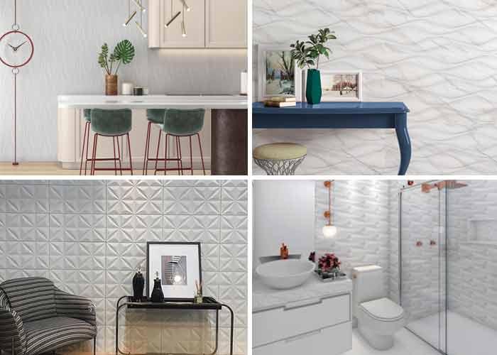 Savane Cerâmica aposta nos revestimentos brancos com design