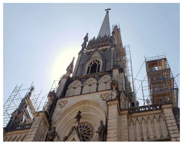 Restauro da Catedral Imperial em Petrópolis