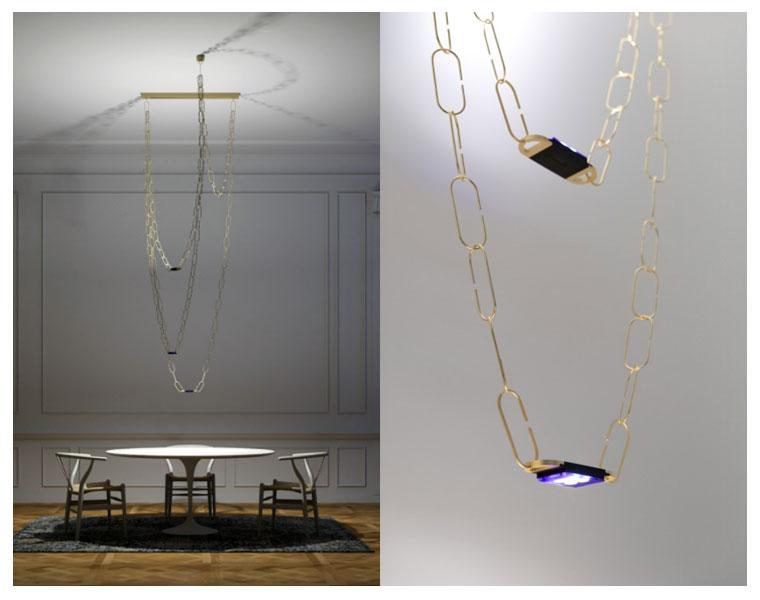 Luminária Chaindelier de Davide Groppi