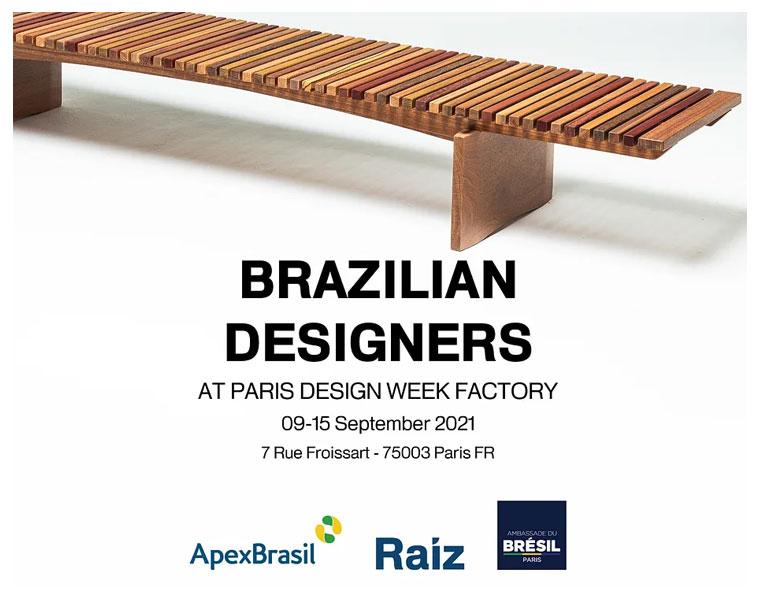 Design brasileiro na Paris Design Week 2021