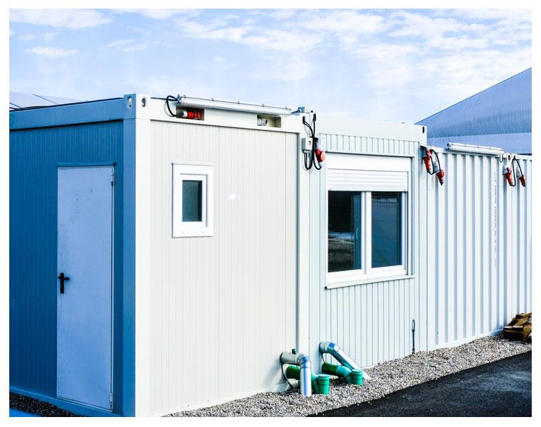 Solventex para conservação de construções modulares