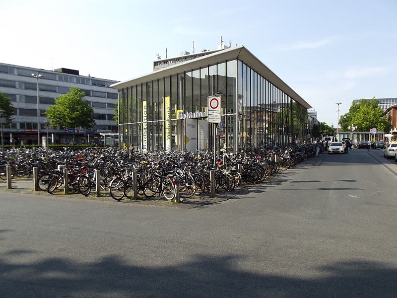 Parking Building Bicycles