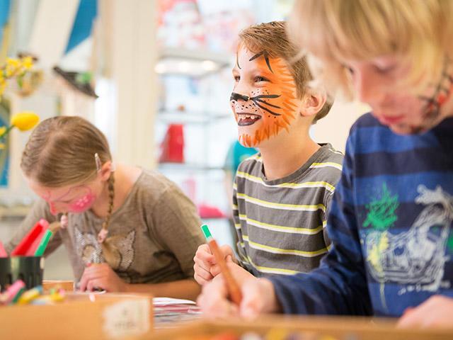 אזור משחק לילדים בסנטר פארקס