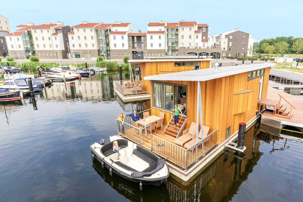 בית סירה בכפר הנופש De Eemhof