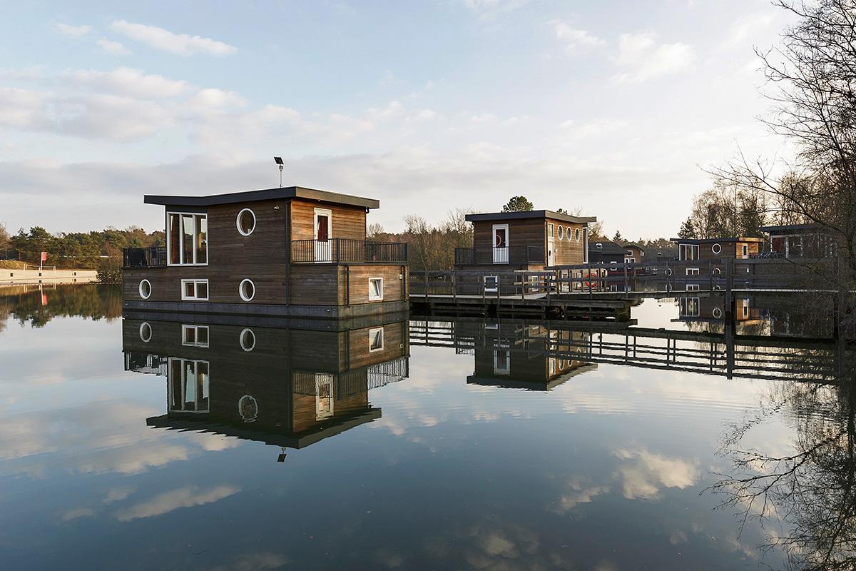 בית סירה ל 4 אנשים בכפר נופש דה קמפרוונן - 1