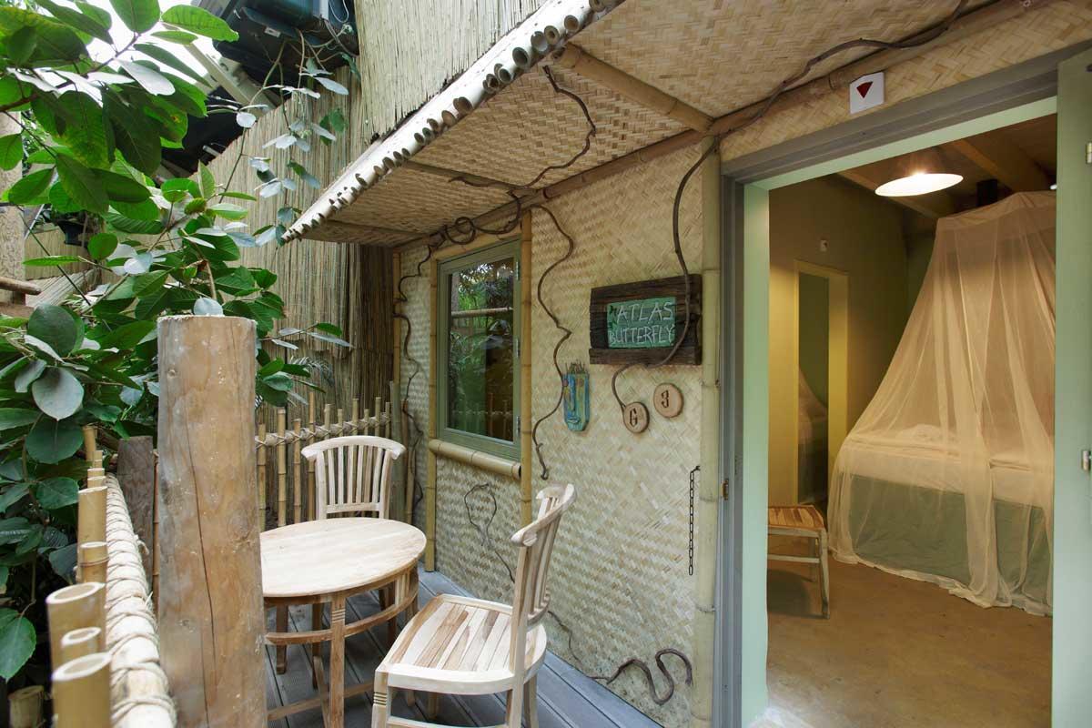 בקתת Jungle Cabana ל 4 אנשים בכפר הנופש הט היידרבוס – 1