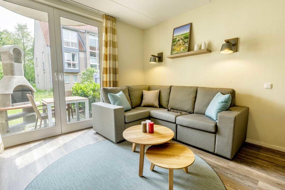 דירה מסוג  VIP ל 2  אנשים בכפר הנופש פארק נורדזייקוסטה – 1