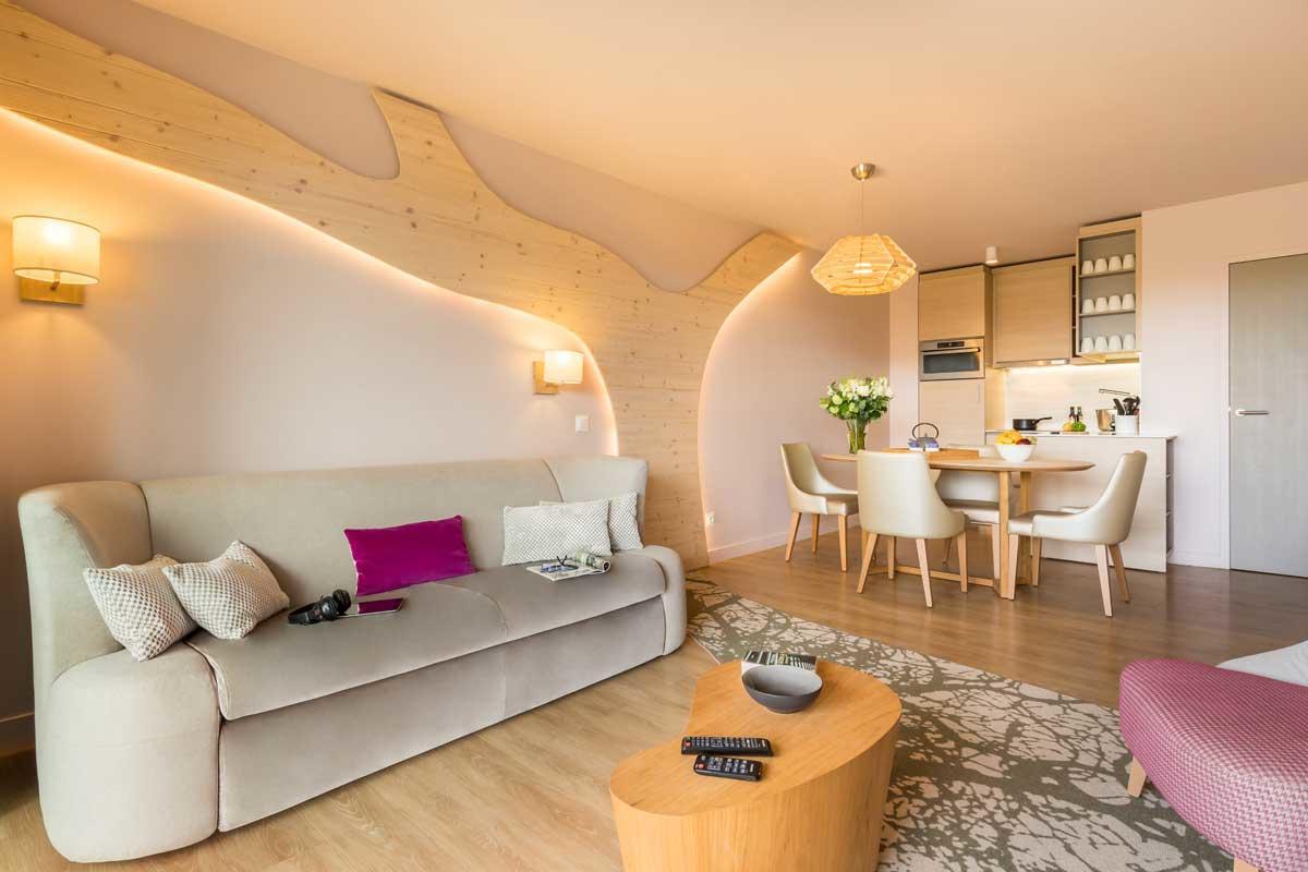 דירה Cocoon VIP ל 4 אנשים בכפר הנופש  וילאז' נאטור – 1