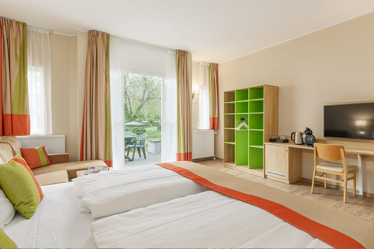 חדר במלון לבעלי מוגבלות בניידות ל 2 אנשים בכפר נופש הוכזוארלנד - 1