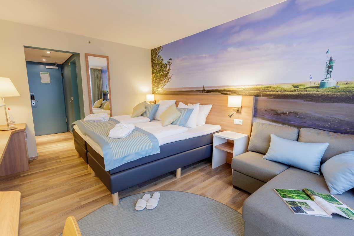 חדר במלון מסוג פרימיום ל 2  אנשים בכפר הנופש פארק נורדזייקוסטה – 1