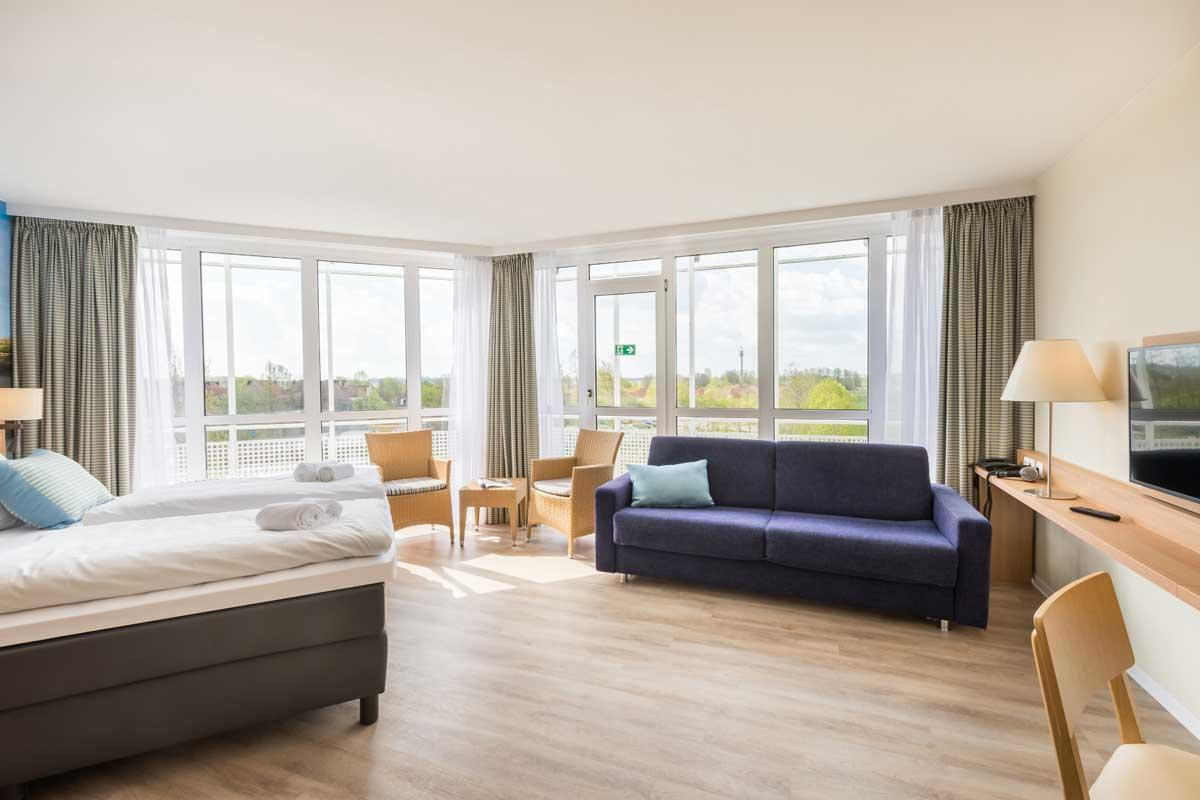 חדר במלון מסוג פרימיום ל 4  אנשים בכפר הנופש פארק נורדזייקוסטה – 1