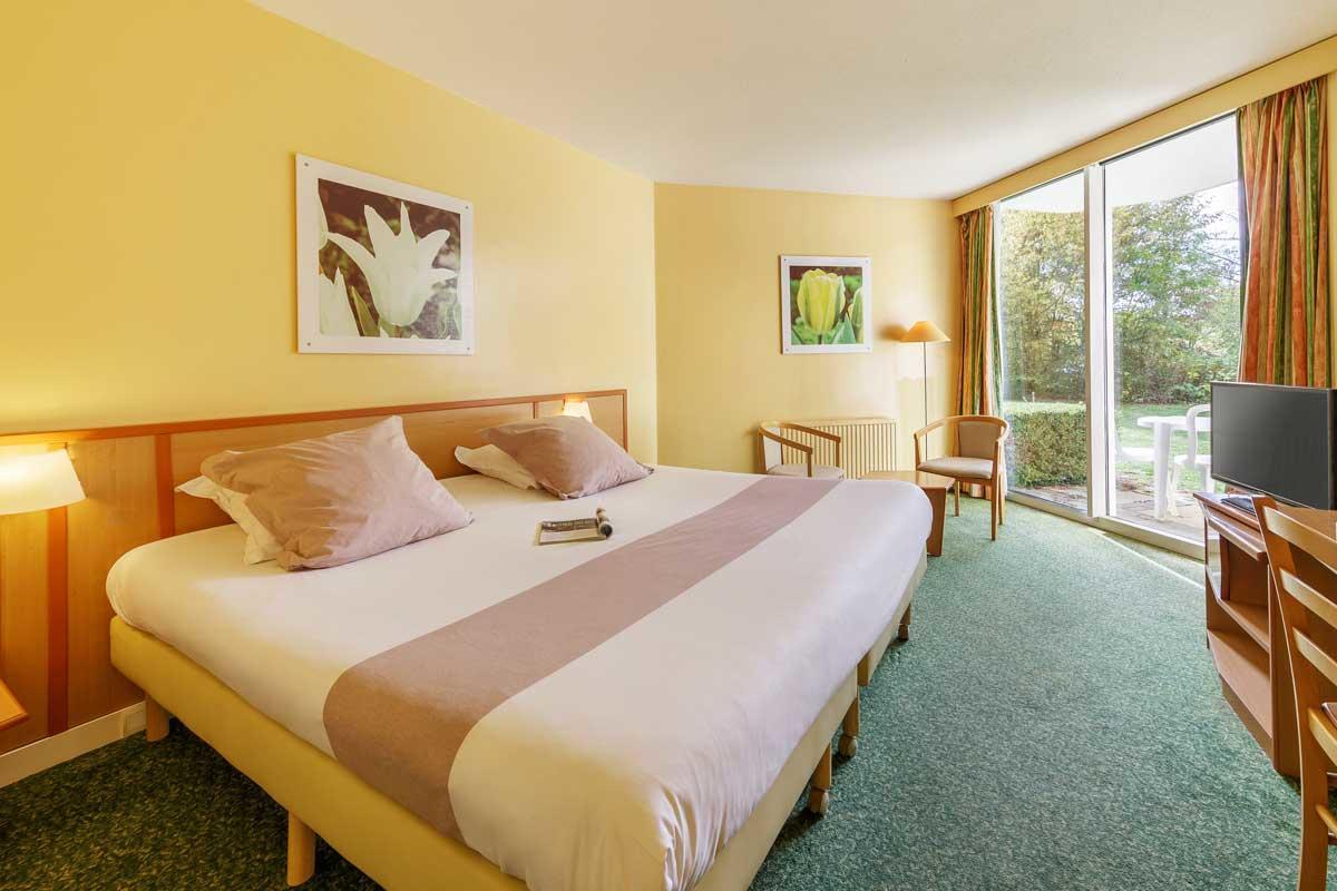 חדר מלון  בכפר הנופש Les Bois - Francs