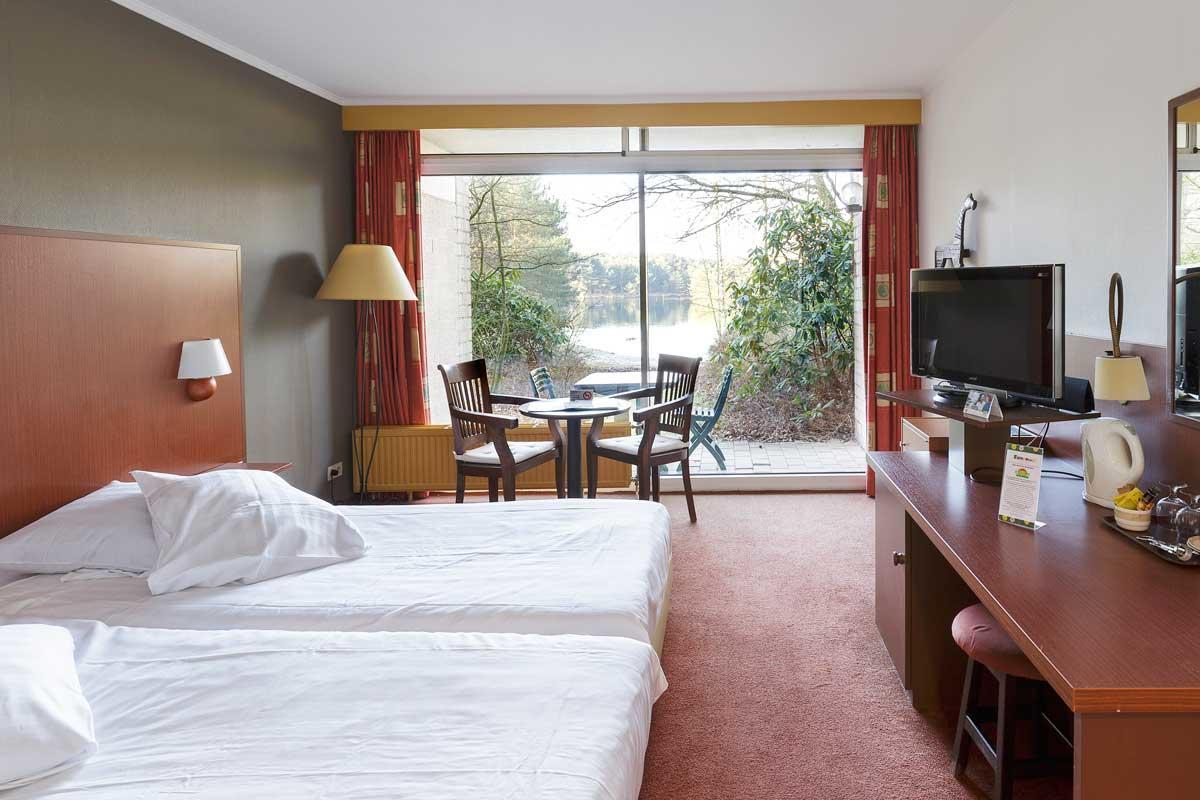 חדר מלון בכפר הנופש De Vossemeren