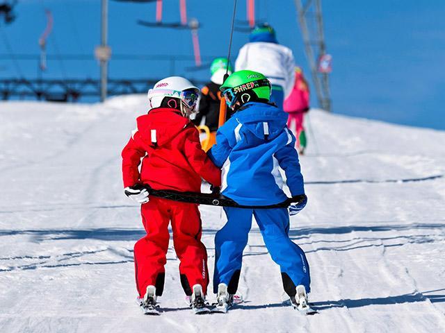 טיולי הטבע של Center Parcs בית ספר לסקי וחוויות חורפיות