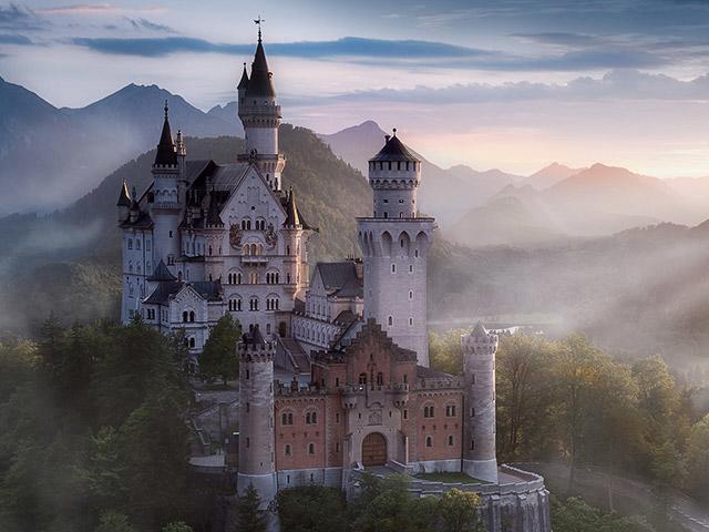 טיולי הטבע של Center Parcs סיור בטירה Neuschwanstein