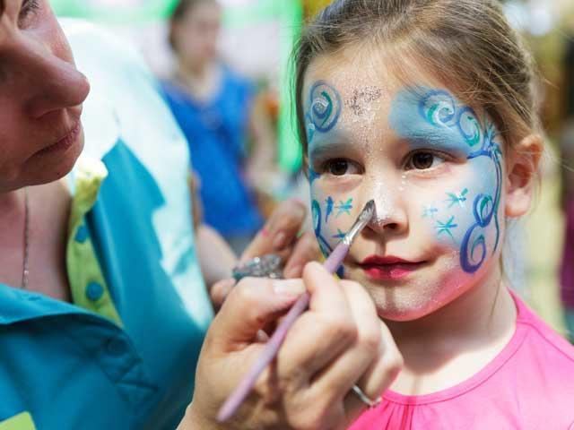 מייקאובר לילדים בסנטר פארקס