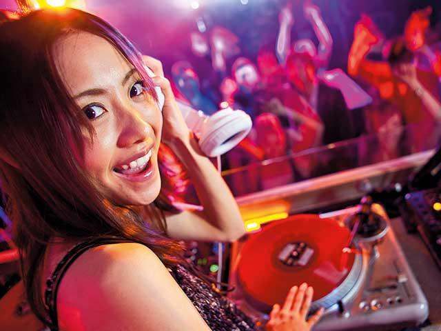 מסיבה עם DJ בסנטר פארקס