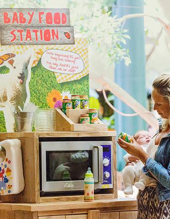 מסעדה בכפרי הנופש הולנד ובלגיה Baby Feeding Facilities