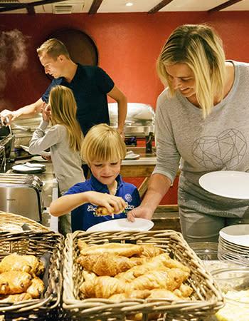 מסעדה בכפרי הנופש הולנד ובלגיה Rise & Shine Restaurant