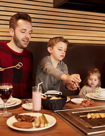 מסעדה בכפרי הנופש הולנד ובלגיה The Grill
