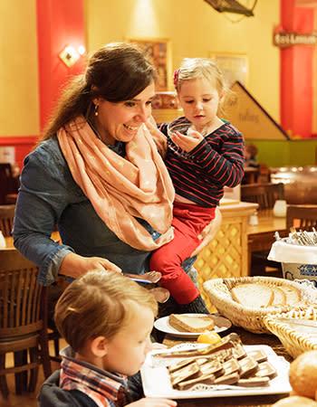 מסעדה בכפרי הנופש הולנד ובלגיה The Market Restaurant