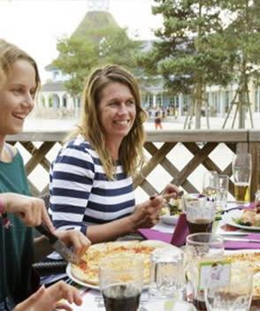 מסעדה Italian Il Giardino  בכפרי הנופש צרפת