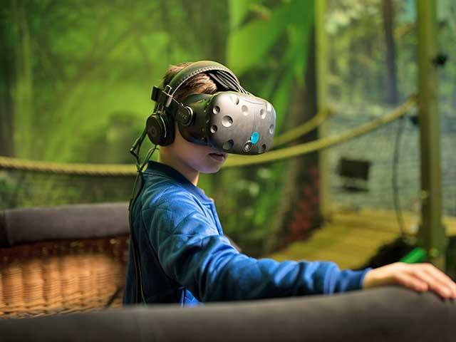 מציאות מדומה בסנטר פארקס