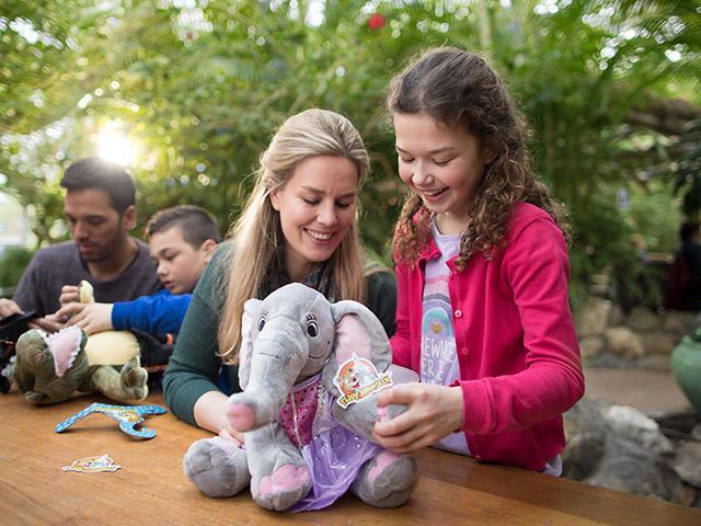 סדנא לילדים בובות של חיות בסנטר פארקס