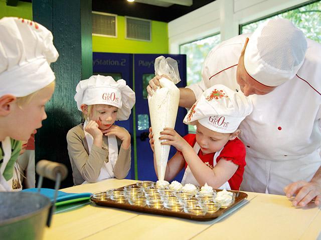 סדנא לילדים בישול בסנטר פארקס