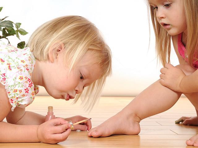 סטודיו לציפורניים לילדים בסנטר פארקס