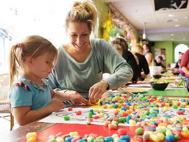פעילויות לילדים קטנים בסנטר פארקס