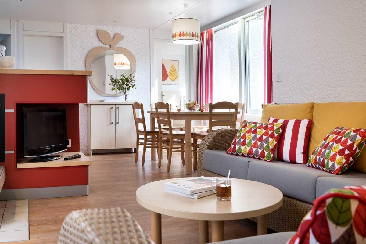 קוטג' Comfort בכפר הנופש Les Bois - Francs